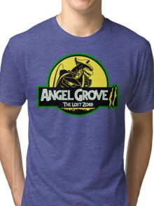 Angel Grove II: The Lost Zord Tri-blend T-Shirt