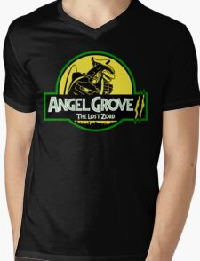 Angel Grove II: The Lost Zord Mens V-Neck T-Shirt