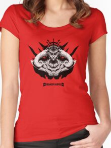 Demon King Women's Fitted Scoop T-Shirt