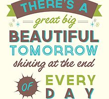 Beautiful Tomorrow (For light backgrounds) by LivelyLexie