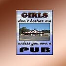 GIRLS &amp; PUB by Jon de Graaff