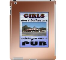 GIRLS & PUB iPad Case/Skin