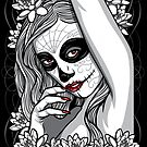 DAY OF DEAD GIRL by SmittyArt