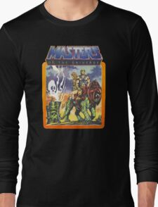He-Man Masters of the Universe Battlecat and Teela Long Sleeve T-Shirt