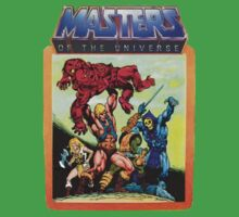 He-Man Masters of the Universe Battle Scene Kids Clothes