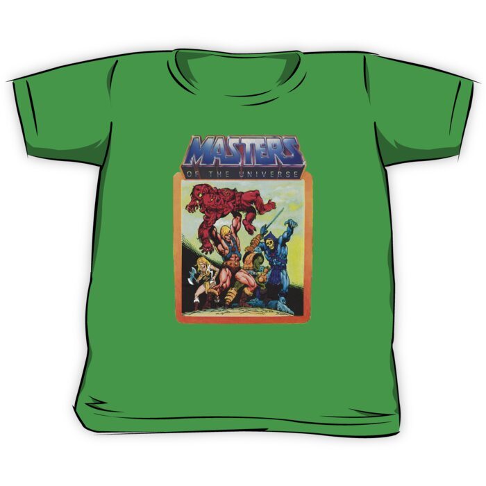 Boys He-Man Masters of the Universe Battle Scene Kids Tee - 2 Years +