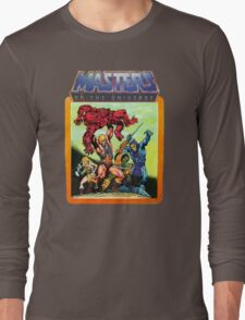 He-Man Masters of the Universe Battle Scene Long Sleeve T-Shirt