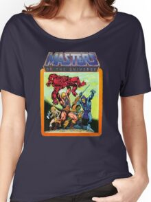 He-Man Masters of the Universe Battle Scene Women's Relaxed Fit T-Shirt