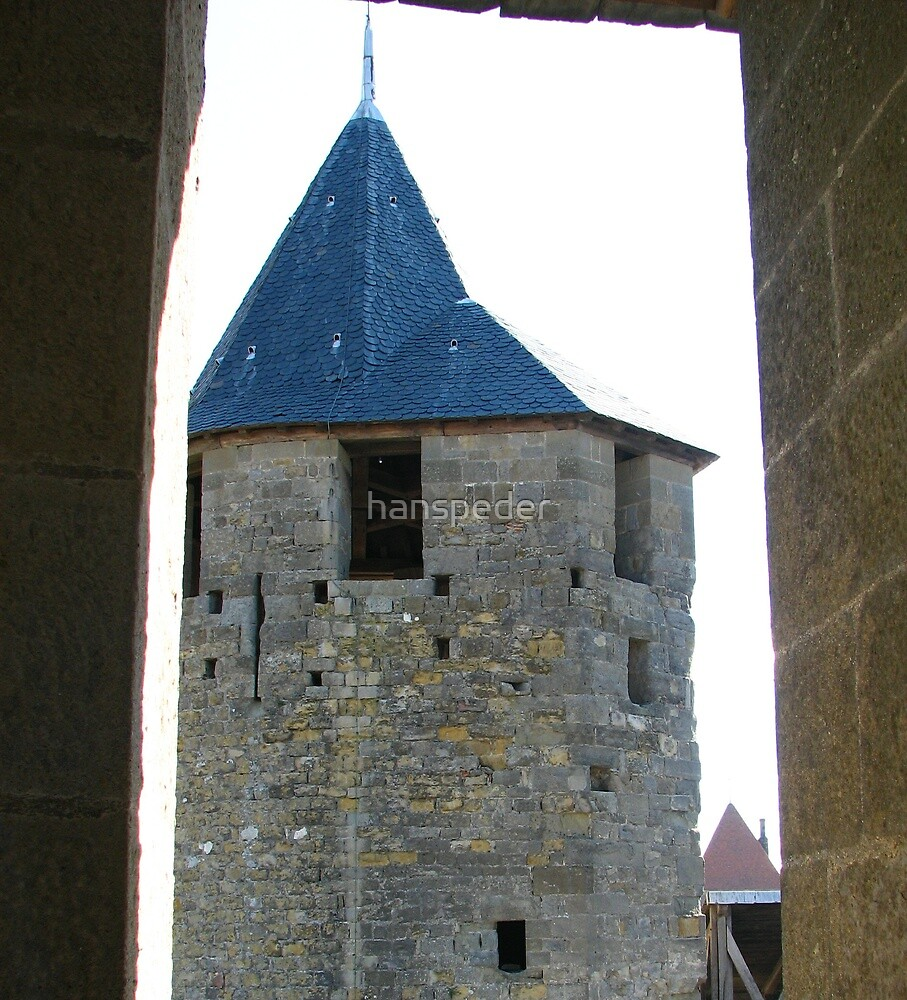 Tower of Carcassonne by hans p olsen