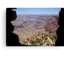 View from the Watchtower,Grand Canyon National Park,Arizona Canvas Print
