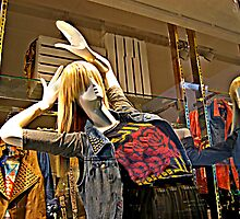 Mannequin That Needs A Chiropractor by Jane Neill-Hancock