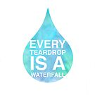 Coldplay - Every Teardrop is a Waterfall Case by novillust