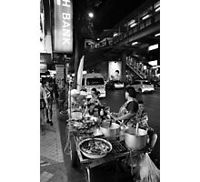 Pat Pong by night Photographic Print