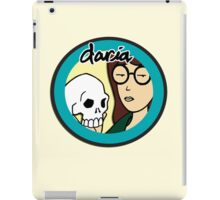 Daria holding a Skeleton iPad Case/Skin