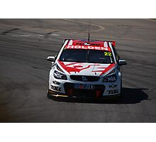 2013 Clipsal 500 Day 3 V8 Supercars - Courtney Photographic Print