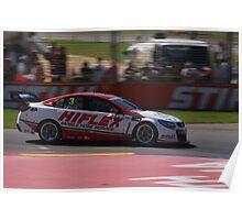 2013 Clipsal 500 Day 4 V8 Supercars - D'Alberto Poster