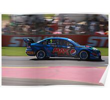 2013 Clipsal 500 Day 4 V8 Supercars - Winterbottom Poster