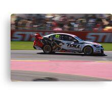2013 Clipsal 500 Day 4 V8 Supercars - Courtney Canvas Print