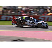 2013 Clipsal 500 Day 4 V8 Supercars - Courtney Photographic Print