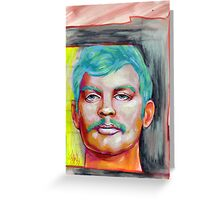 jeffrey dahmer portrait. Greeting Card
