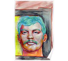 jeffrey dahmer portrait. Poster