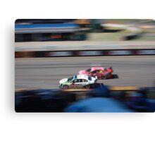 2013 Clipsal 500 Day 4 V8 Supercars - McLoughlin & Reid Canvas Print