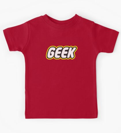 Brick Geek Kids Tee