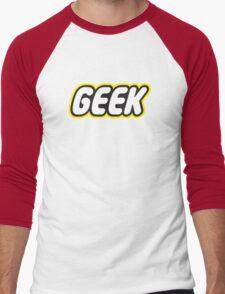 Brick Geek Men's Baseball ¾ T-Shirt