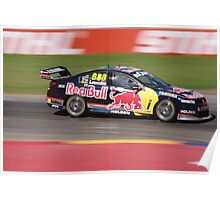 2013 Clipsal 500 Day 4 V8 Supercars - Lowndes Poster
