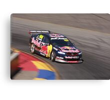 2013 Clipsal 500 Day 4 V8 Supercars - Lowndes Canvas Print