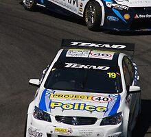 2013 Clipsal 500 Day 4 V8 Supercars - Webb & Blanchard by Stuart Daddow Photography