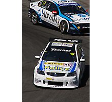 2013 Clipsal 500 Day 4 V8 Supercars - Webb & Blanchard Photographic Print