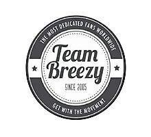 Team Breezy Logo Photographic Print