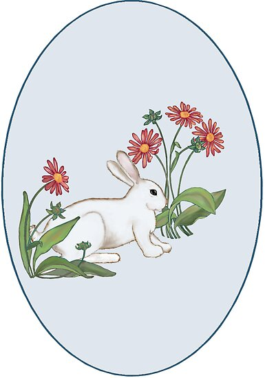 Spring Rabbit by redqueenself