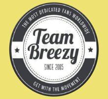 Team Breezy Logo Kids Clothes