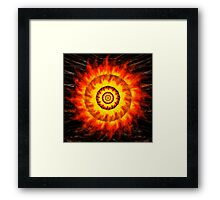 Burning Bush Framed Print