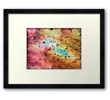 Golden Rush Framed Print