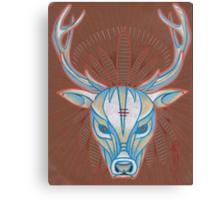 blue elk totem spirit animal. Canvas Print