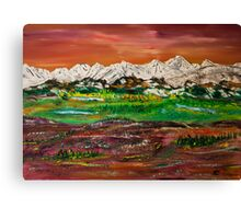Late Autumn from Calgary Canvas Print