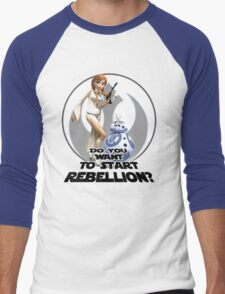 Frozen Wars Men's Baseball ¾ T-Shirt