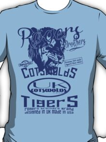 uk cotswolds tigers by rogers bros T-Shirt