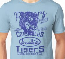 uk cotswolds tigers by rogers bros Unisex T-Shirt