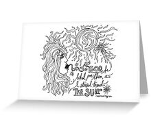 """Quote from """"Annie-Bomb"""" Greeting Card"""