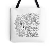 "Quote from ""Annie-Bomb"" Tote Bag"