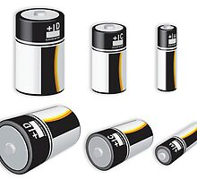 Assorted Batteries by mypic2sell