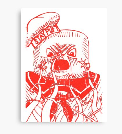 Stay Puft - Ghostbusters Canvas Print