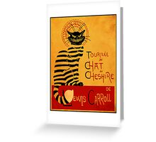 Chat du chesire Greeting Card