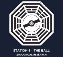 Station 9 - The Ball One Piece - Short Sleeve
