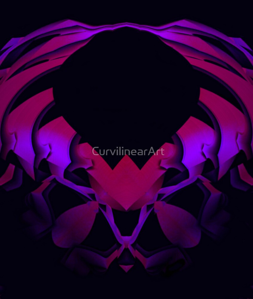 Curvilinear Project No. 86 ( Arthropod  ) by CurvilinearArt