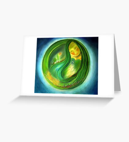 mother earth III Greeting Card